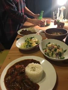 ※写真はオトナ給食のイメージです。当日はこの料理が給食用の皿に盛りつけられる予定です。